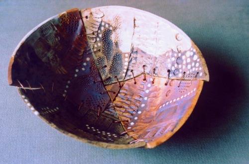 stitched bowl